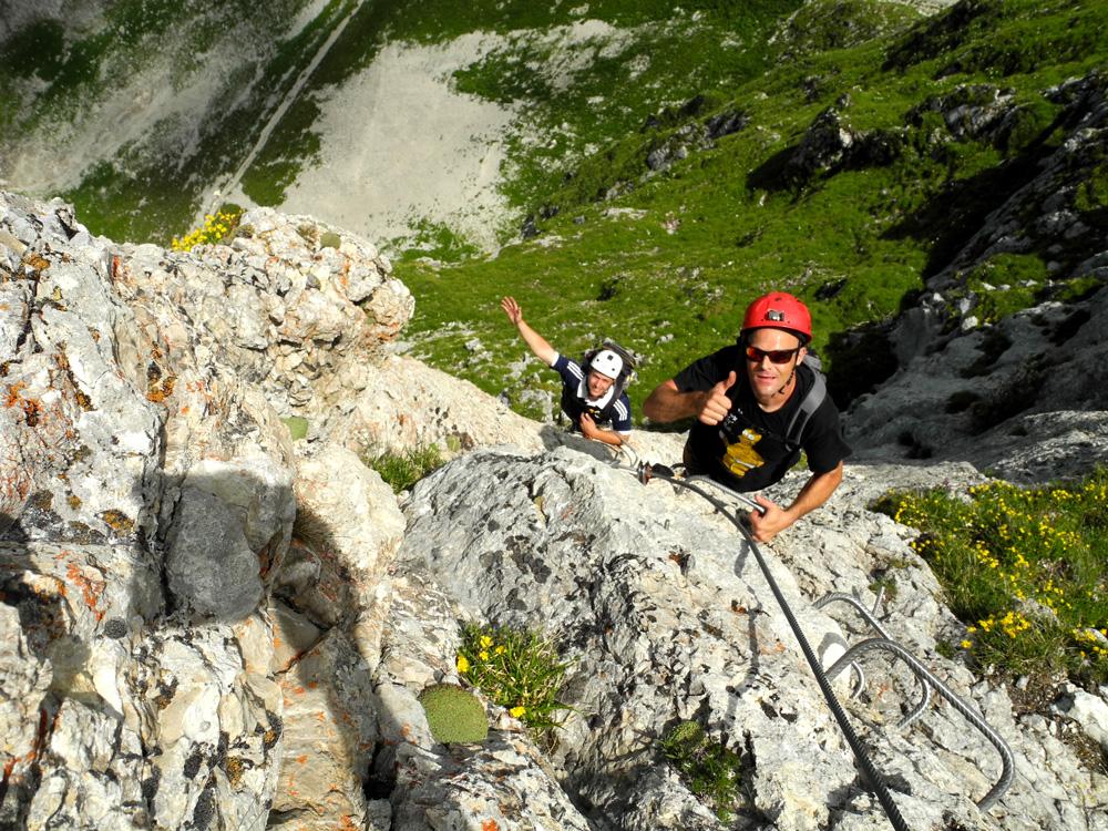 Klettersteig Gantrisch : Klettersteig gantrisch u da wolks